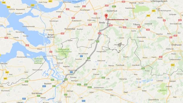 Gunstige ligging voor inwoners Belgie